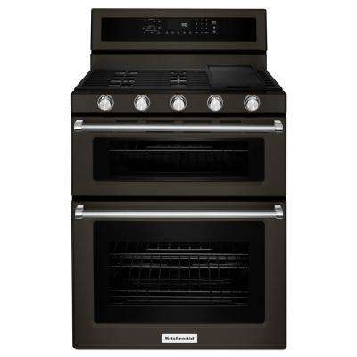 Charmant Double Oven Gas Range With Self Cleaning