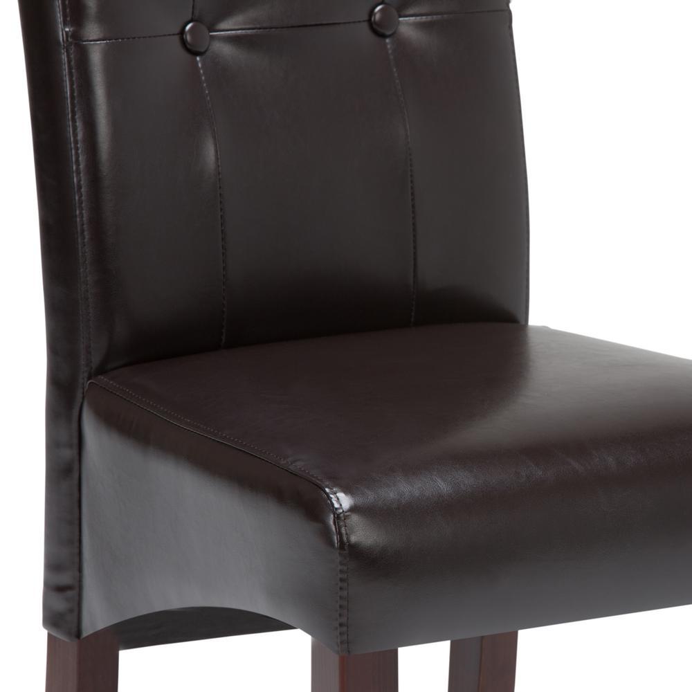 Tremendous Simpli Home Cosmopolitan 9 Piece Dining Set With 8 Creativecarmelina Interior Chair Design Creativecarmelinacom