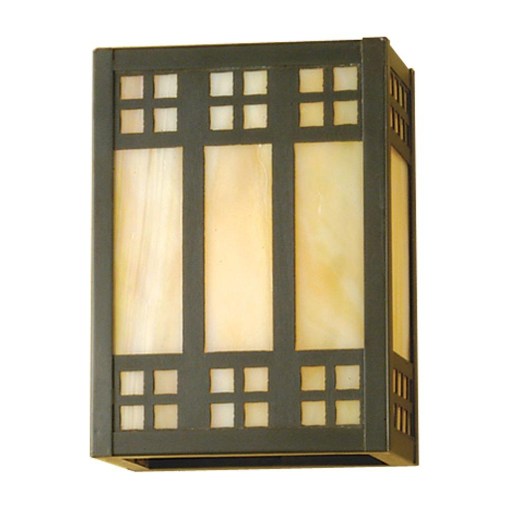 Illumine 1 Prairie Wall Sconce Craftsman Finish