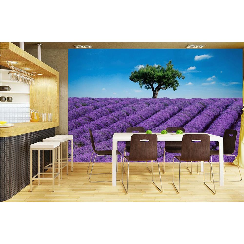 100 in. x 144 in. Provence Wall Mural