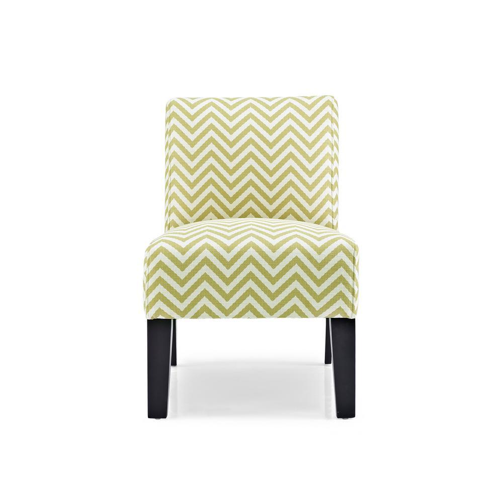 Allegro Ziggi Citron Accent Chair by
