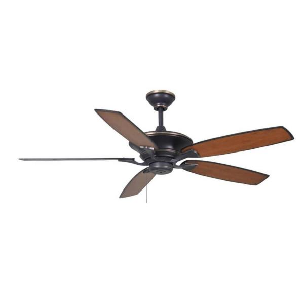 Ashburton 60 in. Indoor Tarnished Bronze Ceiling Fan
