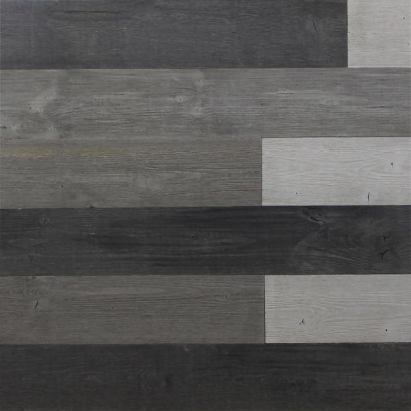 L Mixed Grey Reclaimed Wood And Stick Plank 10 Panels 16 Sq Ft Case Kingsman Hardware