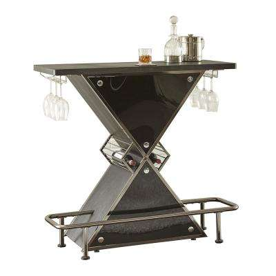 Joanna Black Bar Table