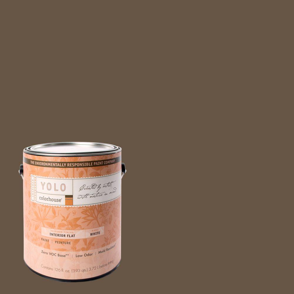 YOLO Colorhouse 1-gal. Clay .06 Flat Interior Paint-DISCONTINUED