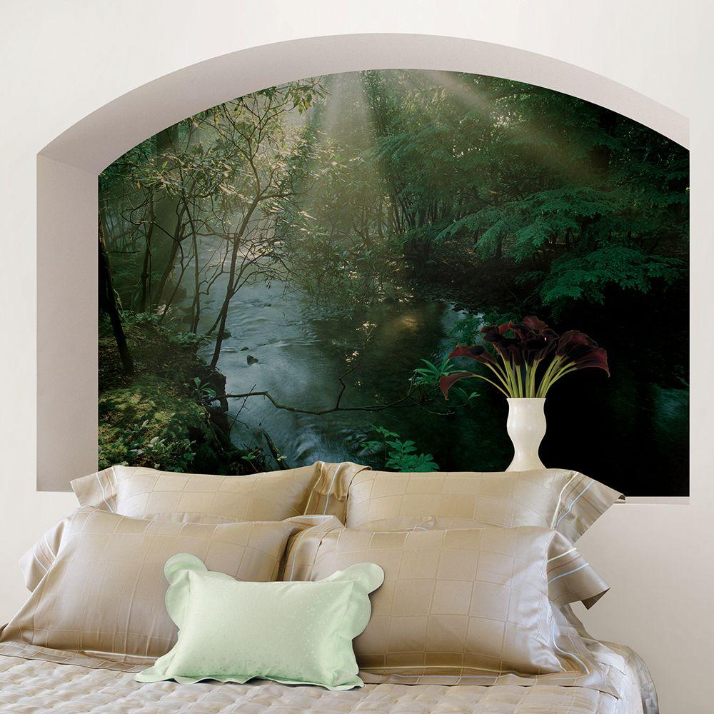 National Geographic 72 in H x 48 in W Creek Wall Mural NG1306