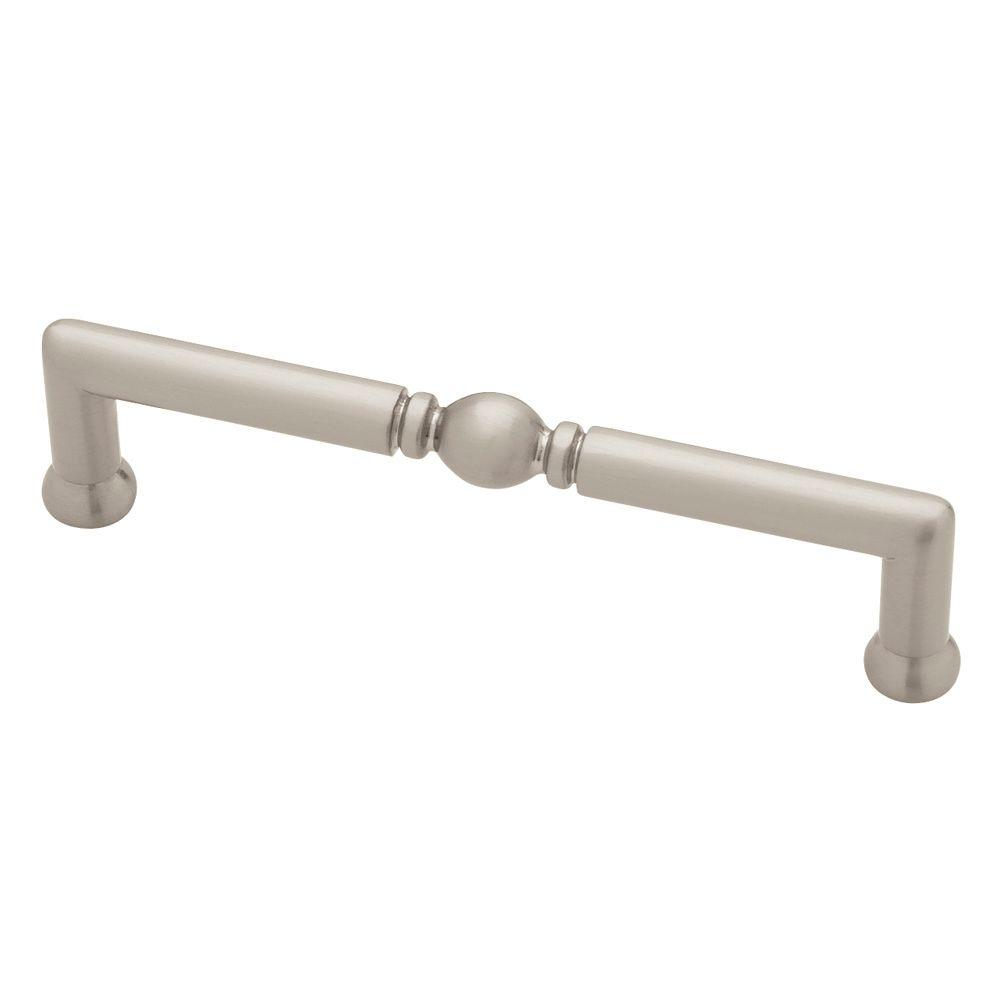 Liberty Classic Decorative 3 3 4 In 96mm Center To Center Satin Nickel Drawer Pull P84200v Sn C5 The Home Depot