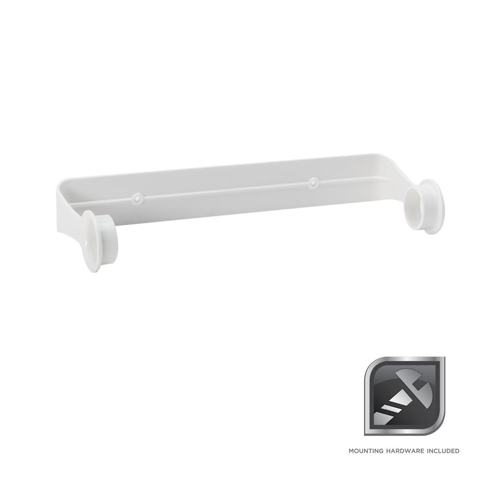 Glacier Bay Wall-Mounted Paper Towel Holder in White