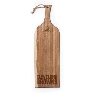 Cleveland Browns Artisan Acacia Wood Serving Plank