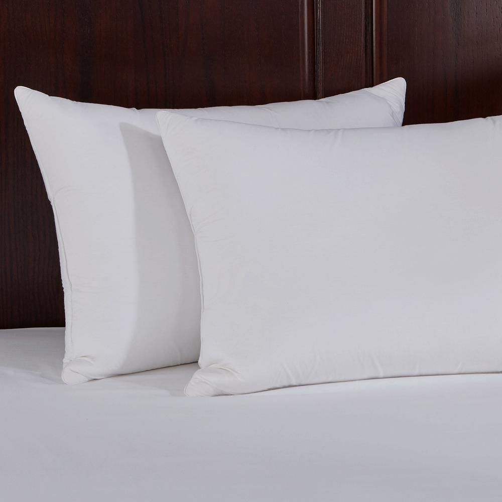 Pure Down Quilted Goose Feather And Down Jumbo Pillow In