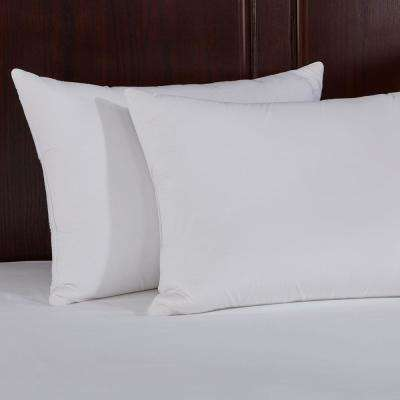 Puredown Natural Memory Foam Goose Feather Pillow in King (Set of 2)