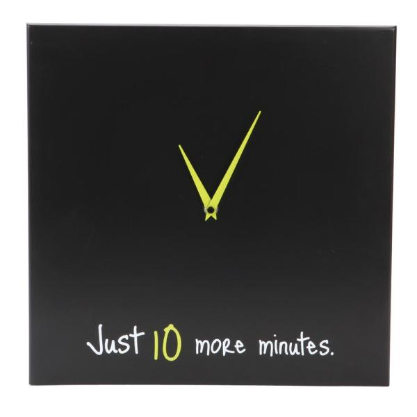 "Kiera Grace Snooze 14"" x 14"" Wall Clock"
