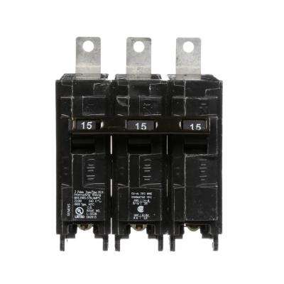 15 Amp 3-Pole Type BLH 22 kA Circuit Breaker