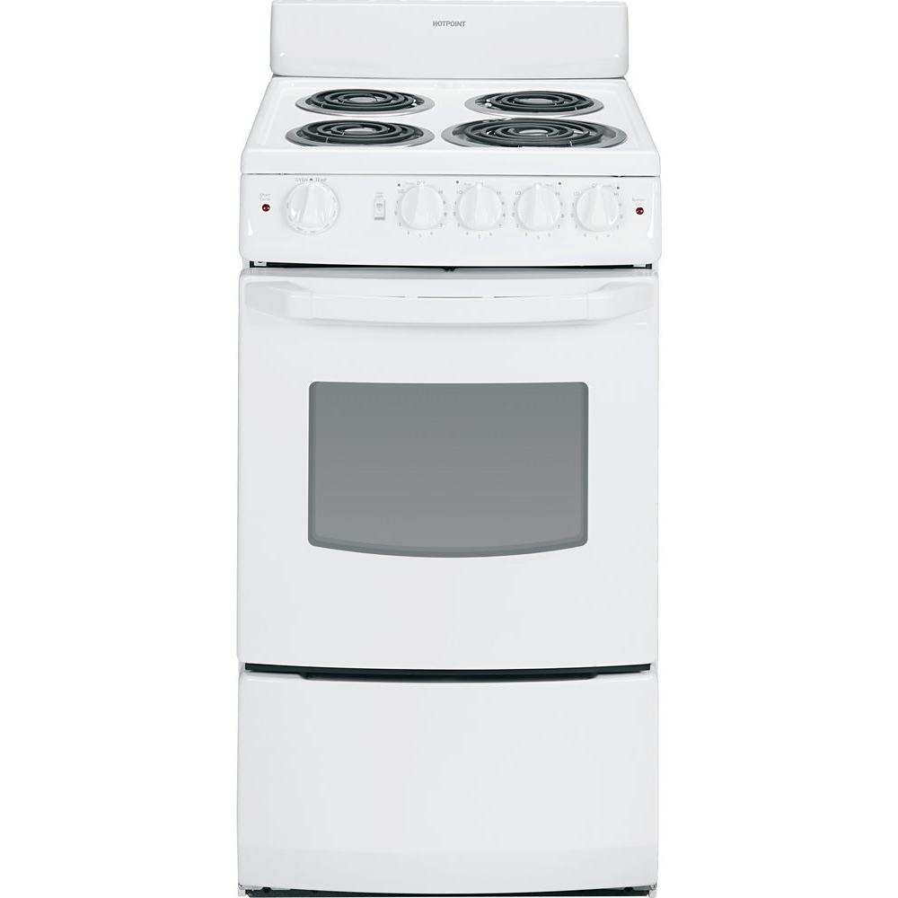 Hotpoint 20 in. 2.4 cu. ft. Electric Range in White
