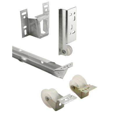 22 5/8 in., Galvanized Steel, Mono-rail Drawer Slide Kit