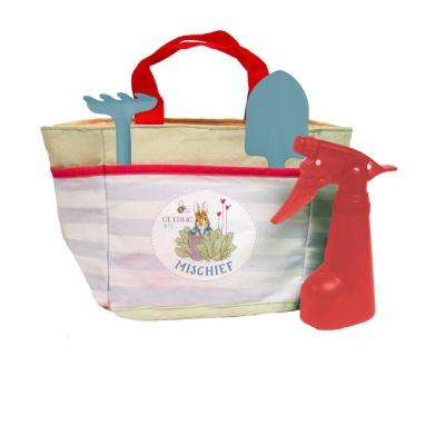 Peter Rabbit Tote Bag With Garden Tool Accessories