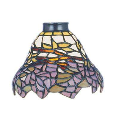 Mix-N-Match 1-Light Wisteria Tiffany Glass Shade