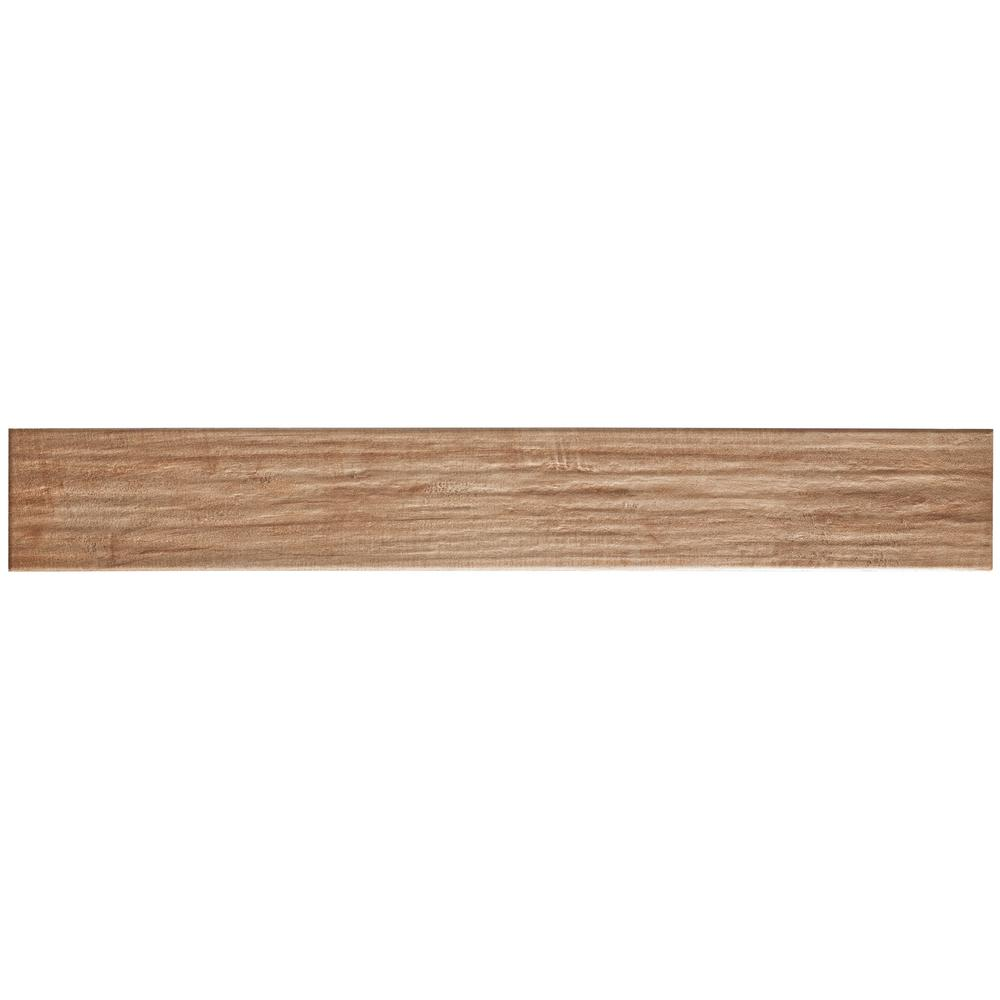 MARAZZI Montagna Soft Maple 4 in. x 28 in. Glazed Porcelain Floor and Wall Tile (9 sq. ft. / case)
