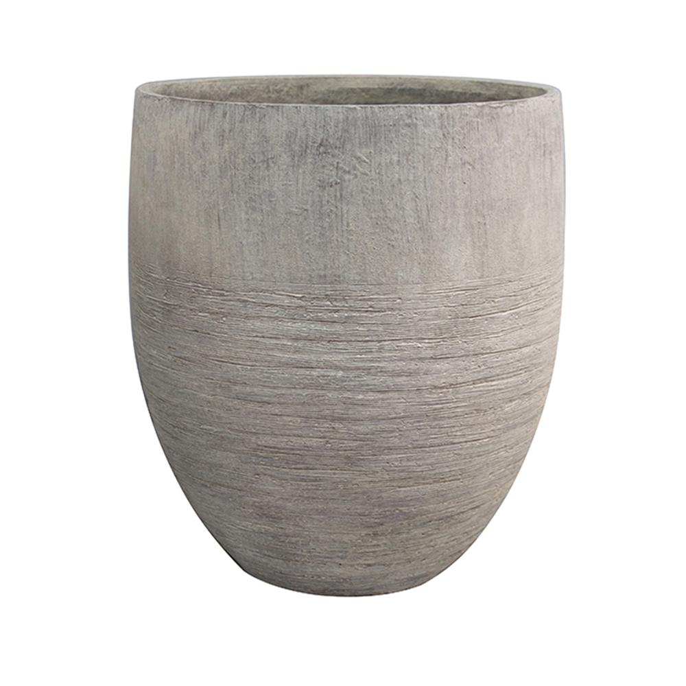 Southern Patio Unearthed 17 in. W x 19 in. H Tall Fiberglass Planter