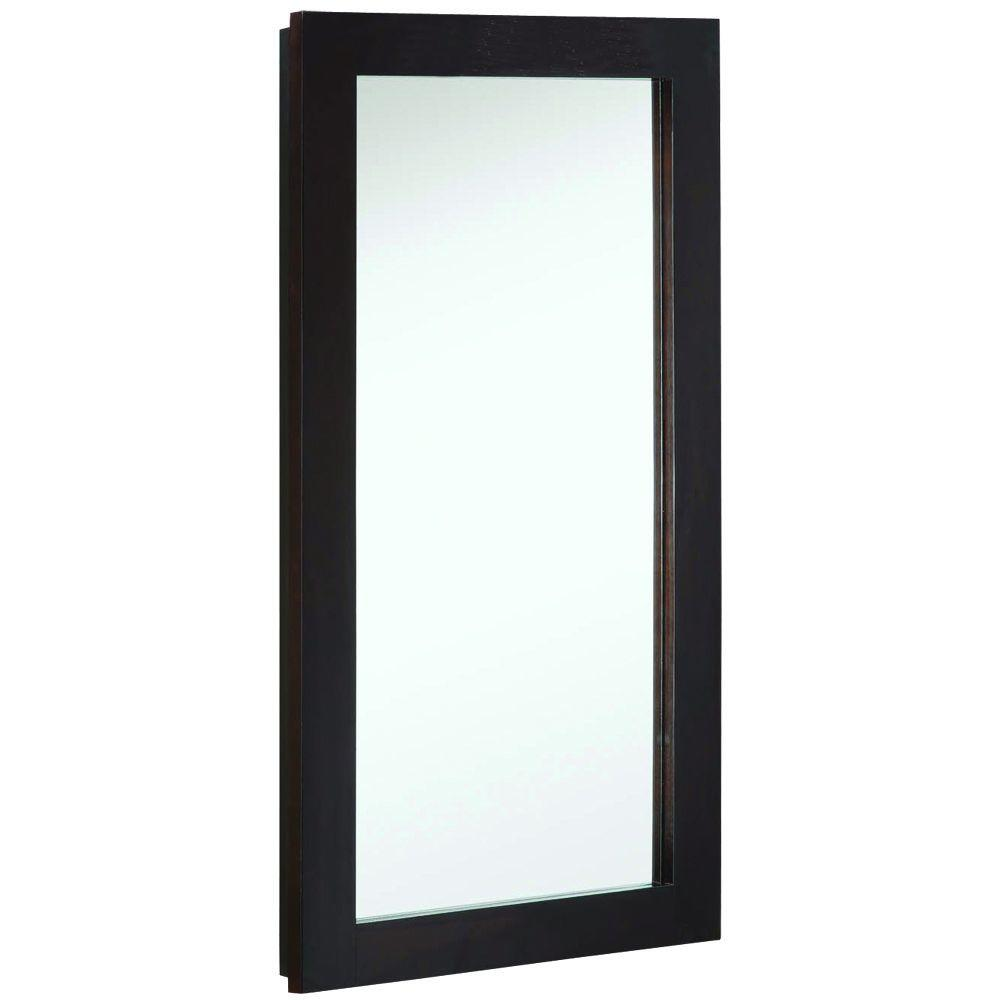 Design House Ventura 16 in. W x 30 in. H x 5 in. D Framed Surface ...