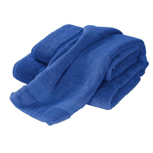The Company Store Turkish Cotton Fingertip Towel in Sapphire (Set of
