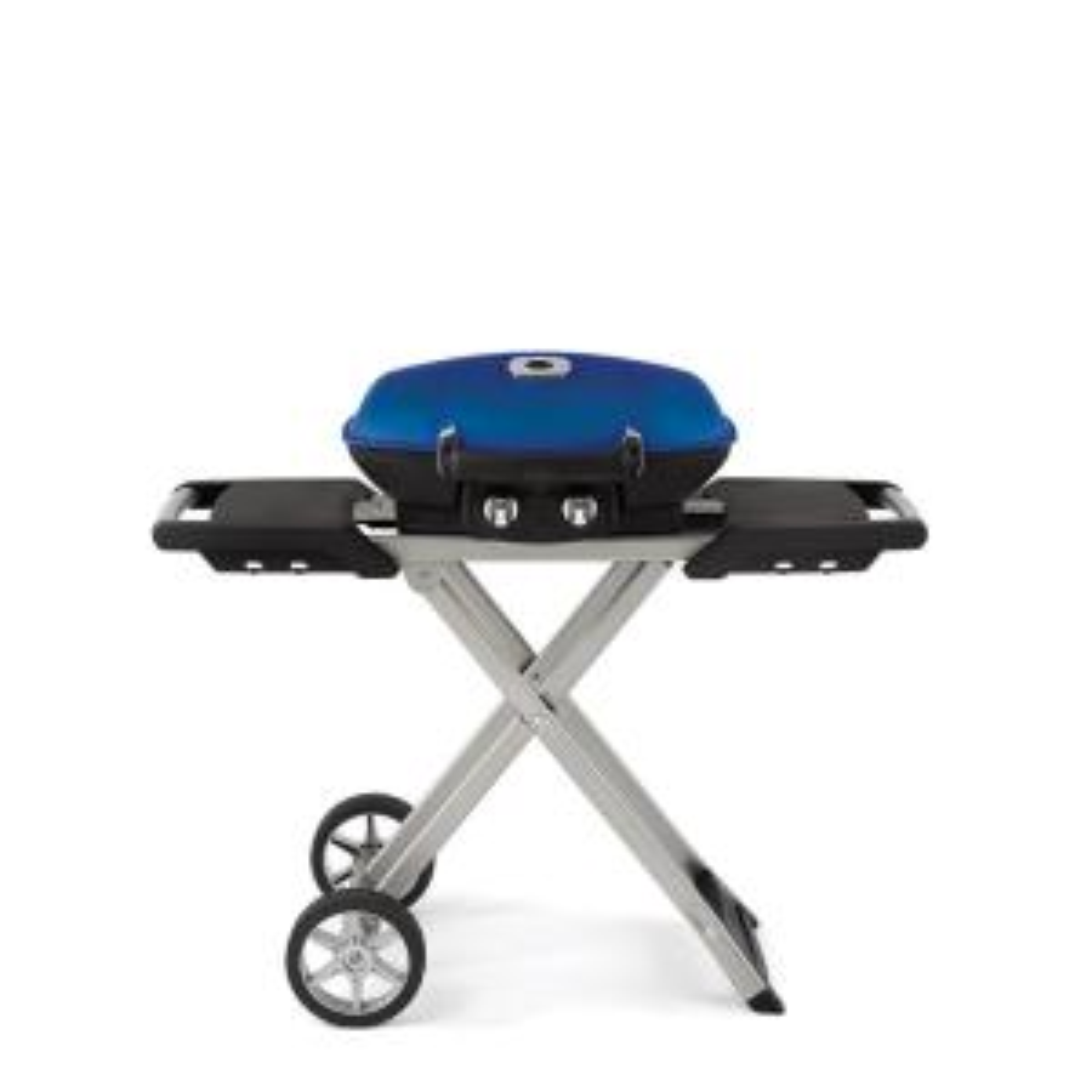 NAPOLEON TravelQ 285 with Scissor Cart Portable Propane Gas Grill in Black by NAPOLEON