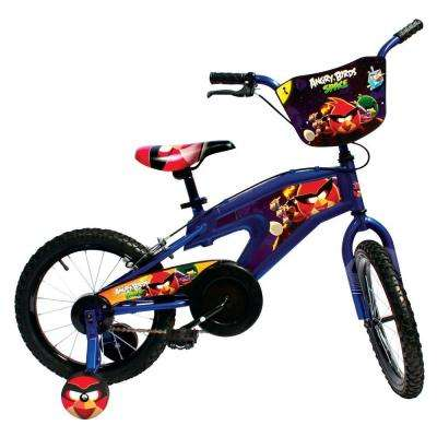 Street Flyers Angry Birds Kid's Bike, 16 in. Wheels, 11 in. Frame, for Boys and Girls in Blue
