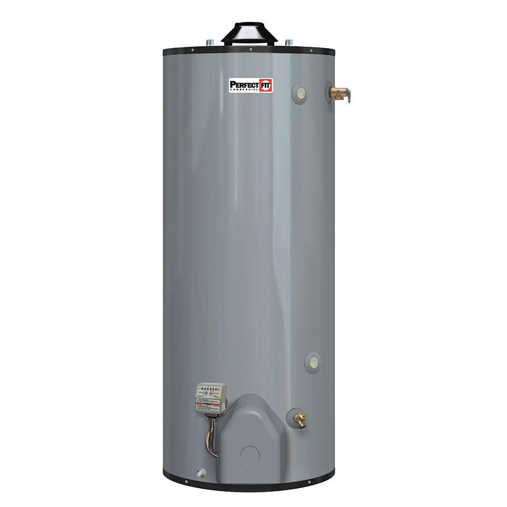 Shop our selection of Rheem, Residential Gas Water Heaters in the Plumbing Department at The Home Depot.