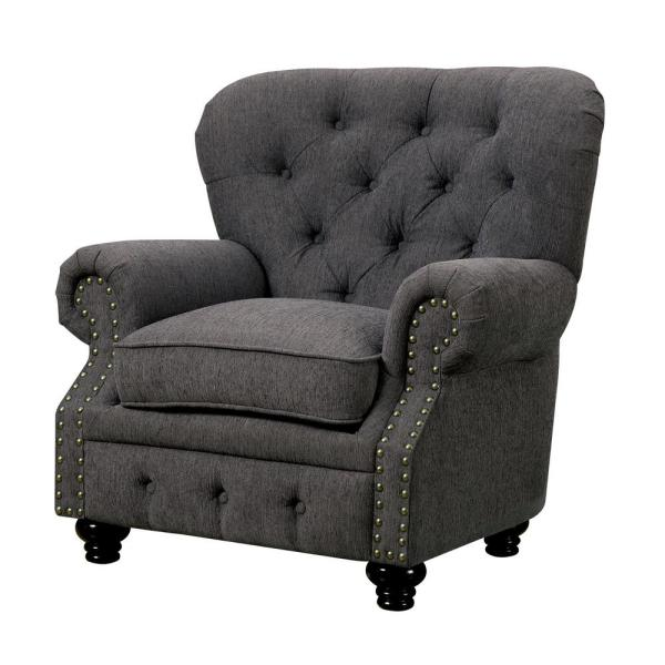 William\'s Home Furnishing Stanford Gray Traditional Style Living ...