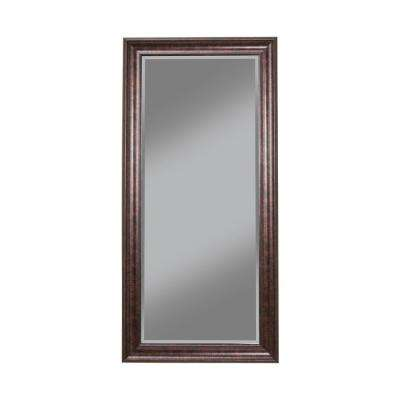 Oil Rubbed Bronze Full Length Leaner Floor Mirror