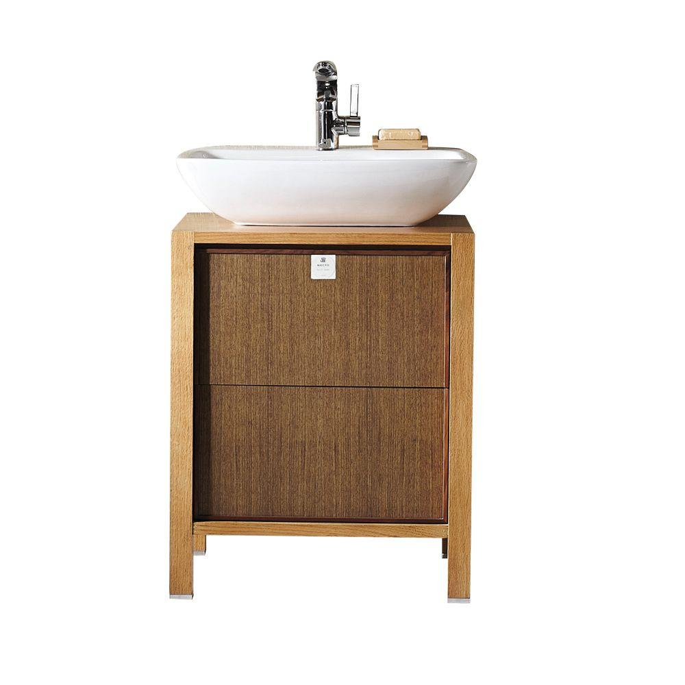 Unfinished vanities without tops bathroom vanities the home d vanity in red oak wood with geotapseo Choice Image