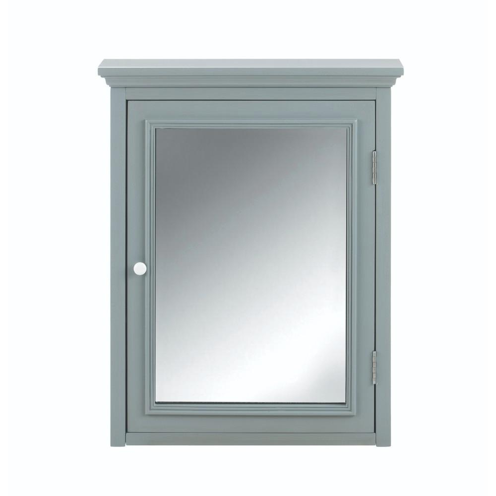 this review is fromfremont  in w x  in h x  in d framedsurfacemount bathroom medicine cabinet in grey. home decorators collection fremont  in w x  in h x  in