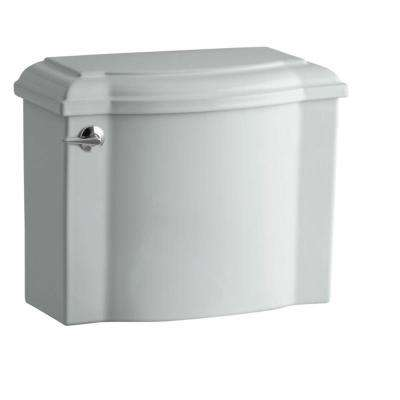 Devonshire 1.28 GPF Single Flush Toilet Tank Only with AquaPiston Flush Technology in Ice Grey