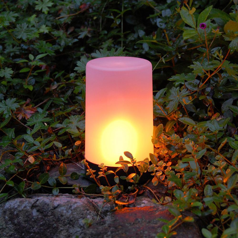 Lumabase Fire Like Amber Battery Powered Led Light 63001 The Home