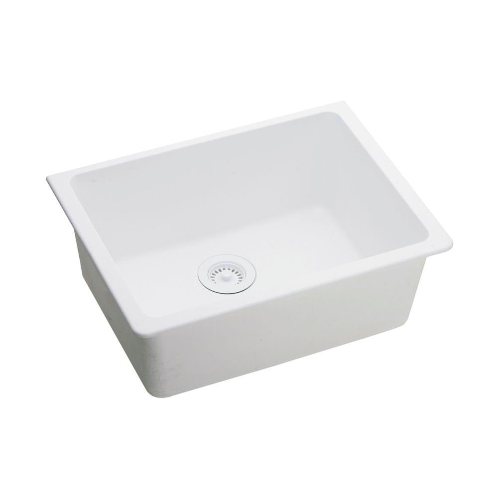 Elkay White Undermount Kitchen Sink