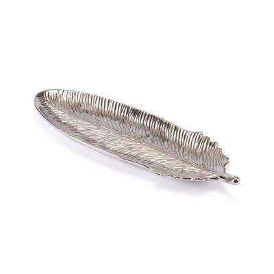 Silver Medium Feather