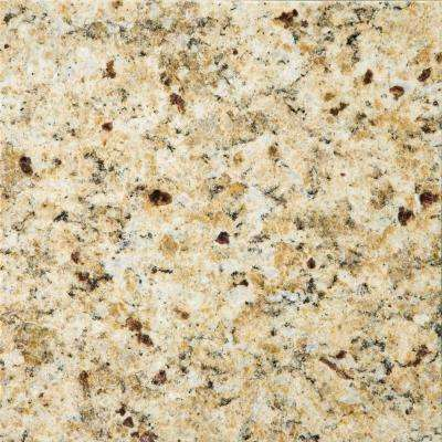 Granite New Venetian Gold Polished 12.01 in. x 12.01 in. Granite Floor and Wall Tile