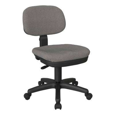 Basic Task Chair in Interlink Flint Fabric