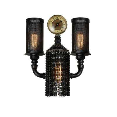 Union 2-Light Gray Sconce