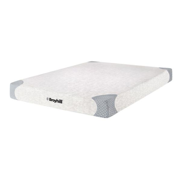 Broyhill Sensura 10 in. Full Medium Firm Memory Foam Mattress MEFRB6101DB