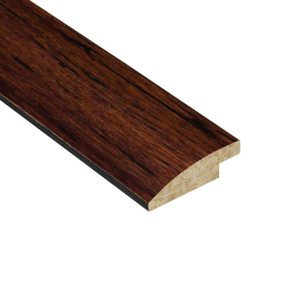 Home Legend Strand Woven Sapelli 9/16 in. Thick x 2 in. Wide x 78 in. Length Bamboo Hard Surface Reducer Molding