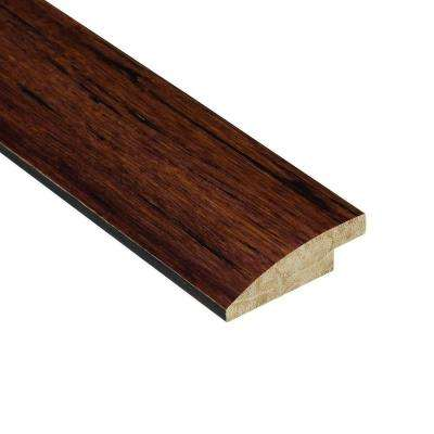 Strand Woven Sapelli 9/16 in. Thick x 2 in. Wide x 78 in. Length Bamboo Hard Surface Reducer Molding