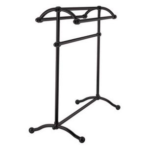 kingston brass pedestal towel rack in oil rubbed the home depot