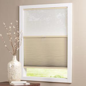 Home Decorators Collection Sheer White Mojave 9 16 In