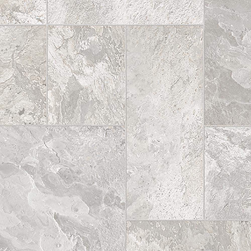 Arbor Grey 13.2 ft. Wide x Your Choice Length Residential Sheet Vinyl Flooring