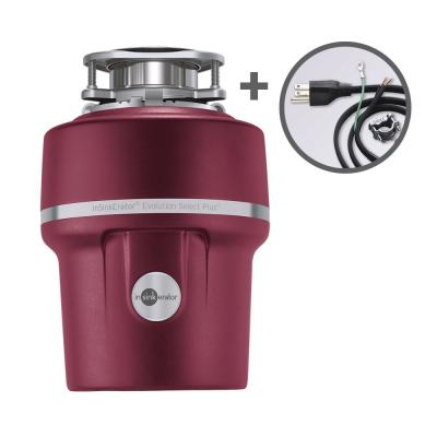 Evolution Select Plus 3/4 HP Continuous Feed Garbage Disposal with Power Cord Kit Included