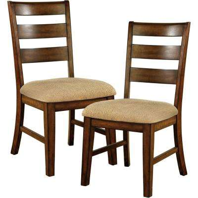 Priscilla I Antique Oak Dining Chair (Set of 2) - Oak - Dining Chairs - Kitchen & Dining Room Furniture - The Home Depot