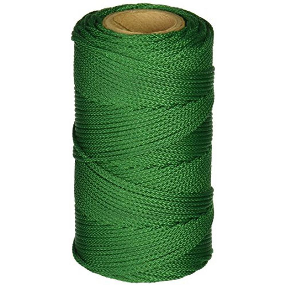 Green Braided Nylon Mason Line 250 ft. Tube
