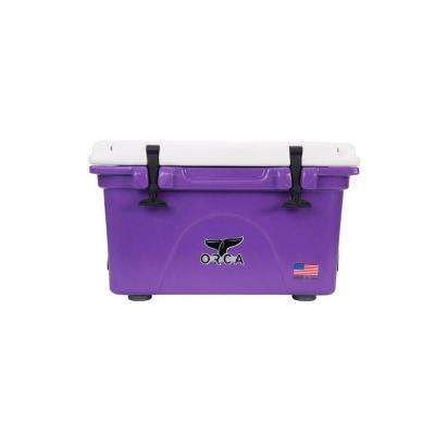 ORCA Purple/White 26 Qt. Cooler