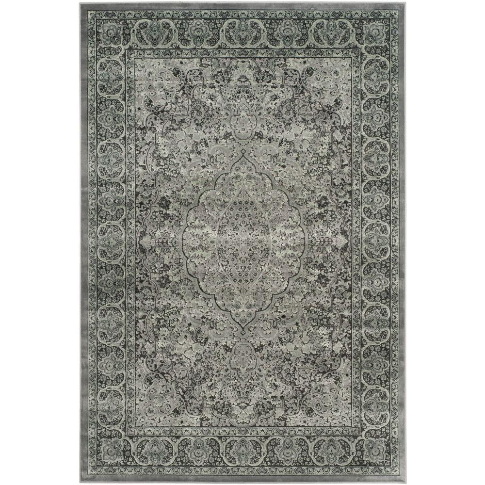 Paradise Light Gray/Anthracite 5 ft. 3 in. x 7 ft. 6